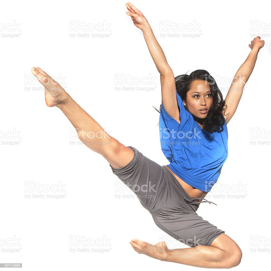superjump royalty-free stock photo