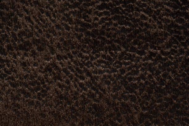 Superlative Elegant Dark Brown Fabric Texture For Background Usage