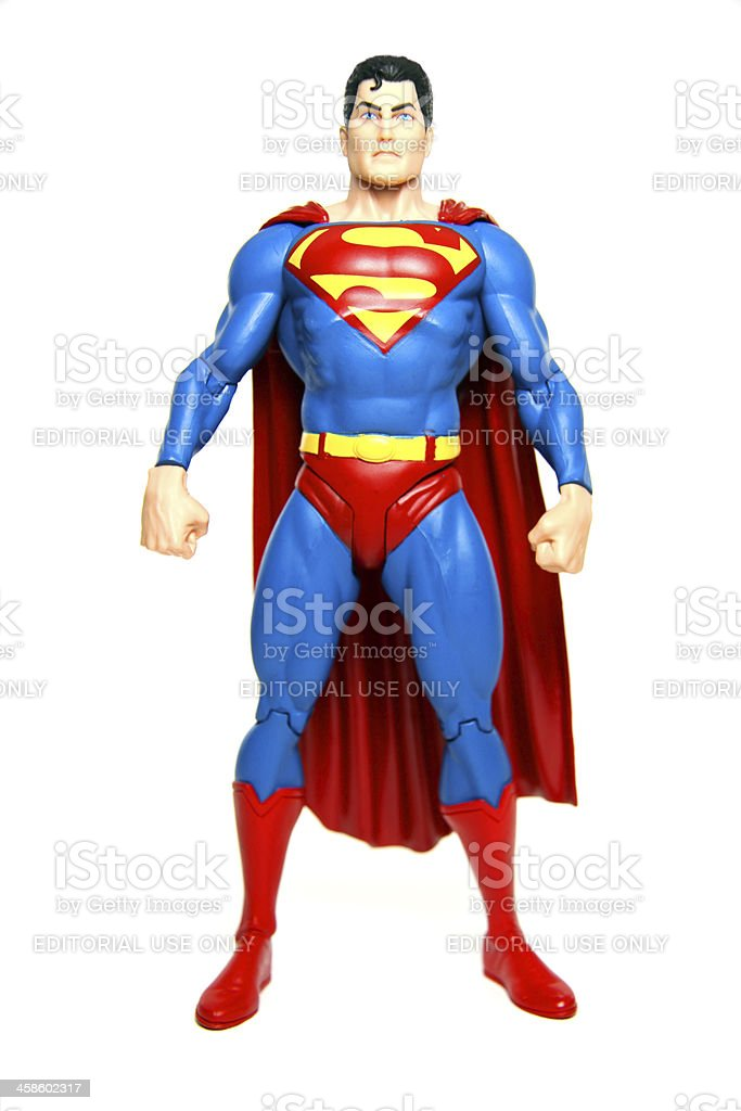 Superman stock photo