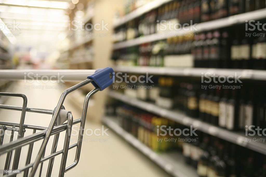 Supermarket 2 royalty-free stock photo