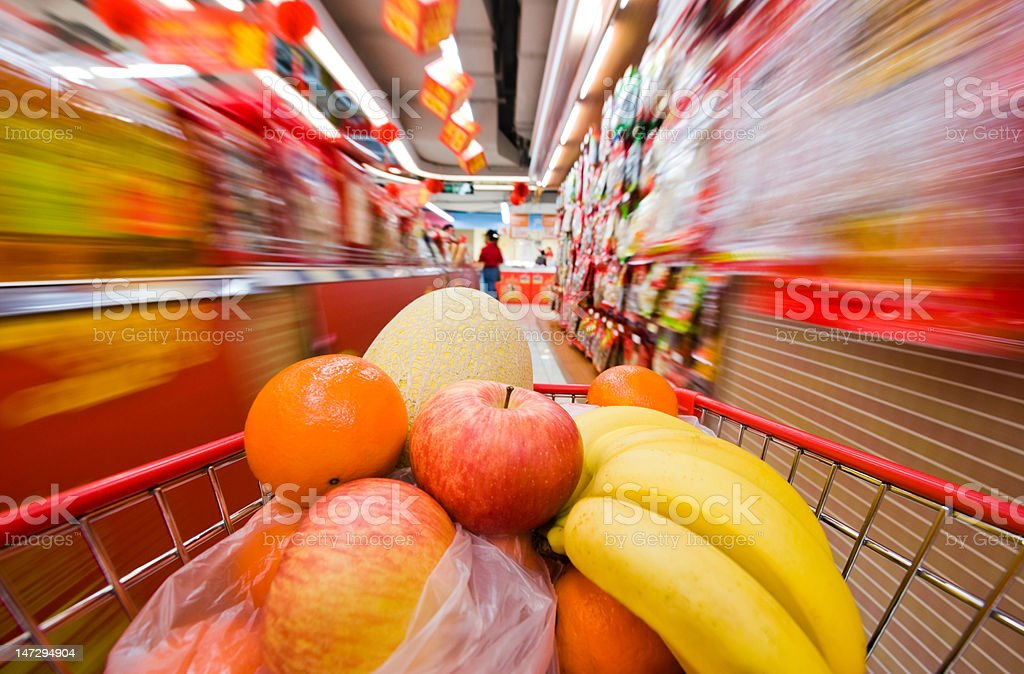 supermarket abstract royalty-free stock photo