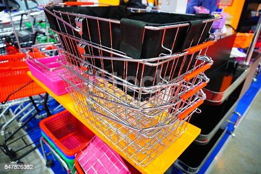511190632istockphoto Supermarket basket 847826382