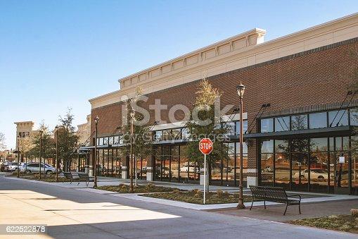 istock Supermarket in suburban area 622522878