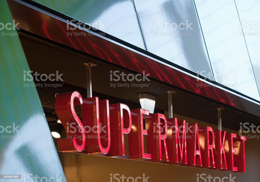 Supermarket foto