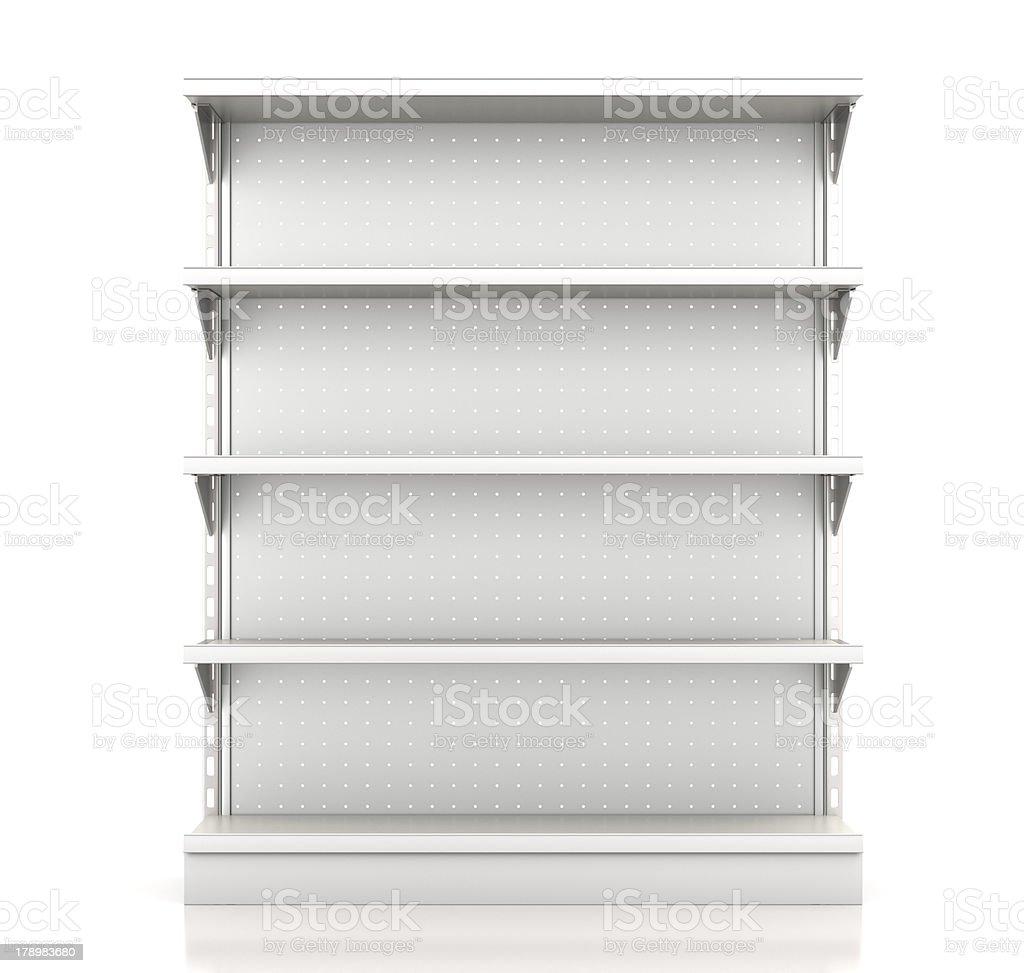 Las estanterías - foto de stock