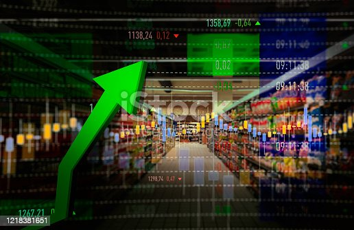 Groceries, Retail, Stock Market Data, Moving Up, Growth
