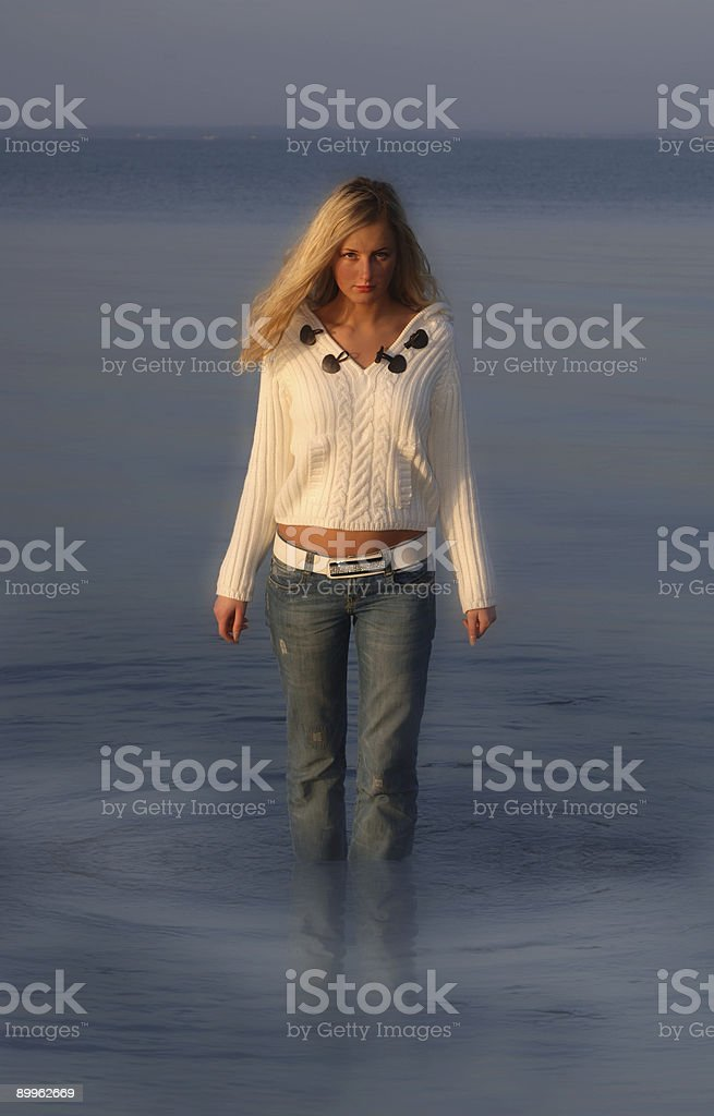 Supermodel royalty-free stock photo