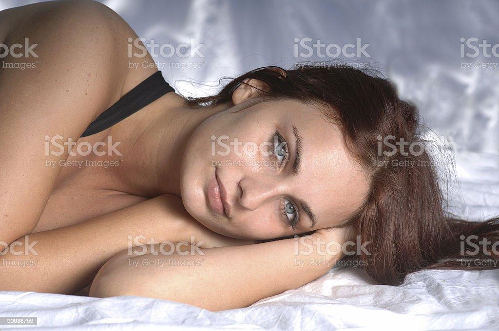 Supermodel stock photo