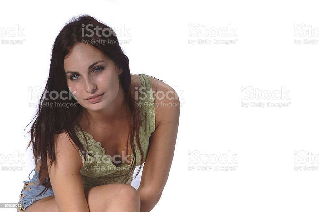Supermodel stock photo