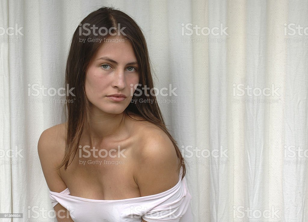 Supermodel royalty-free stock photo