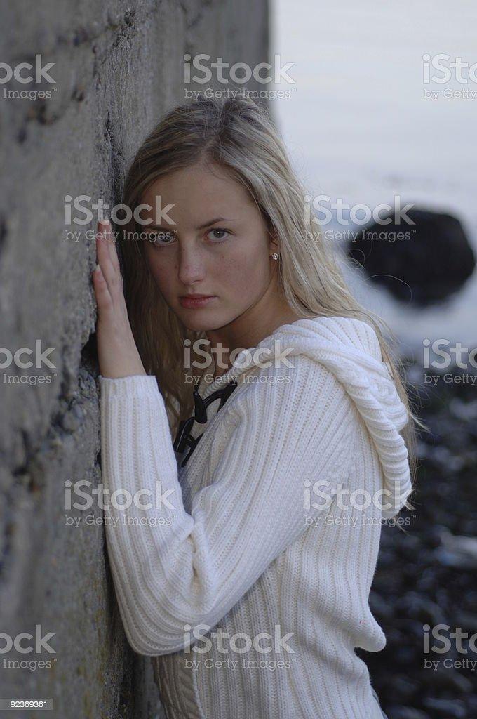 Supermodel Lizenzfreies stock-foto