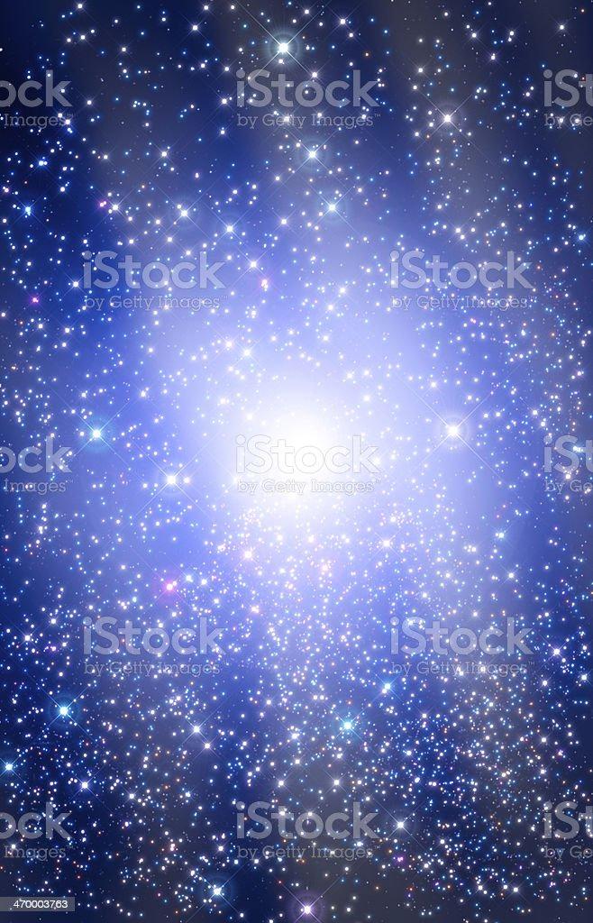 Supernova Burst royalty-free stock photo