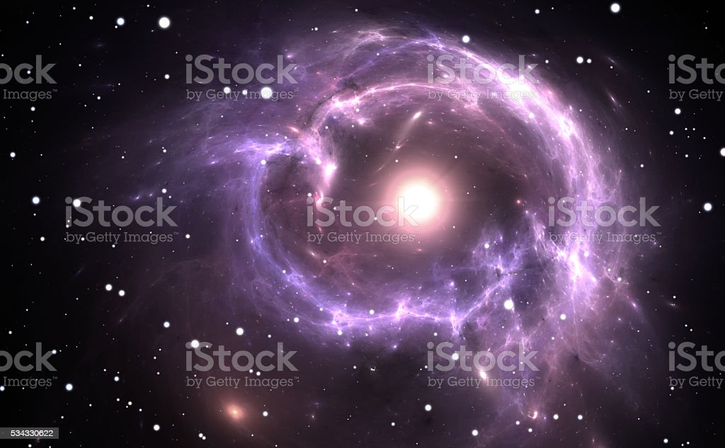 Supernova Explosion stock photo