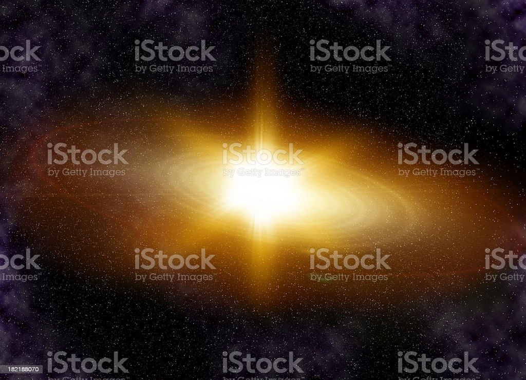 Supernova royalty-free stock photo
