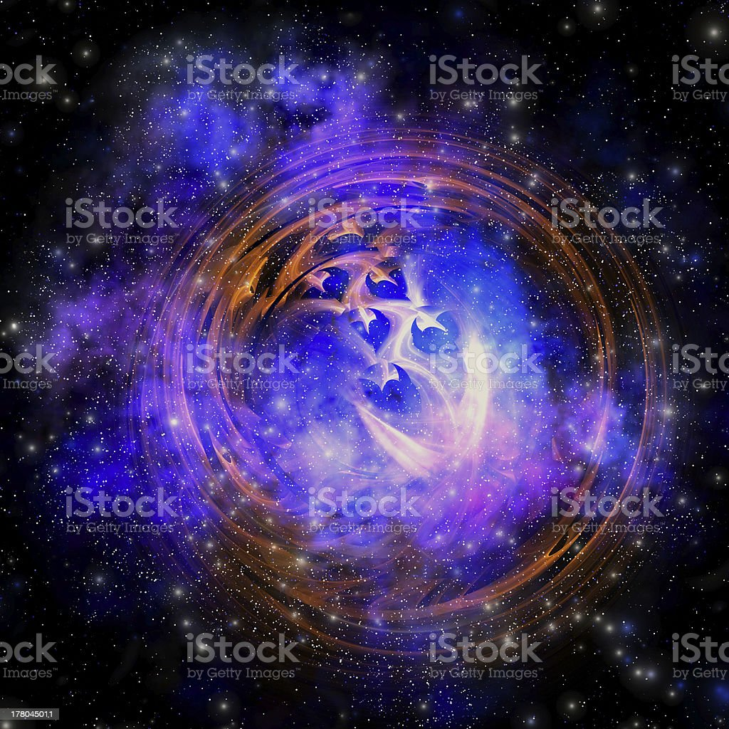 Supernova Remnant royalty-free stock photo