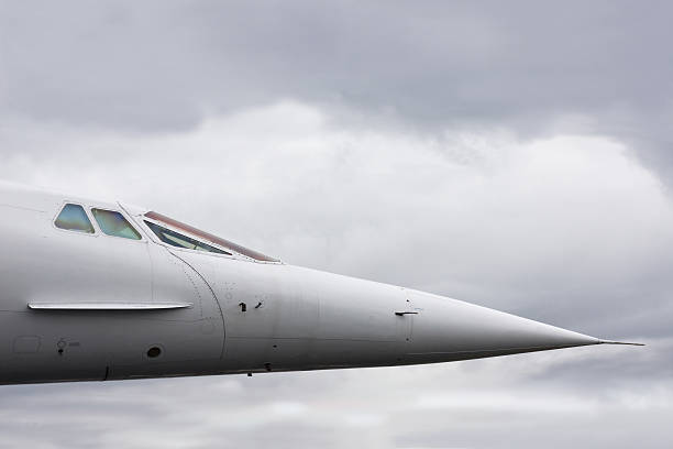 supersonic jet - sonic boom stock photos and pictures