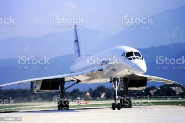 Supersonic Plane Concorde Stock Photo - Download Image Now