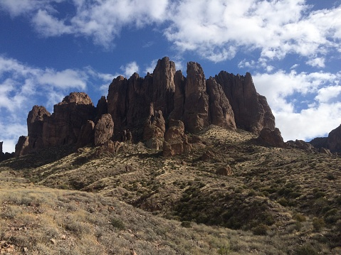 Superstition Mountain Stock Photo - Download Image Now