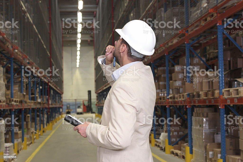 supervisor countimg stocks - Royalty-free Abundance Stock Photo