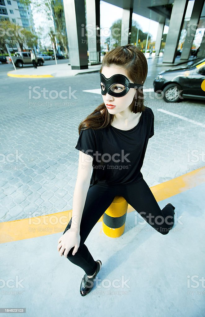 Superwoman royalty-free stock photo