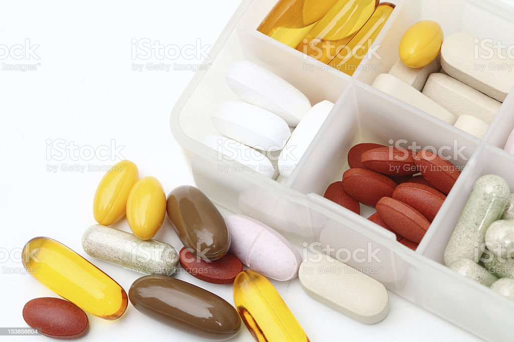 supplement royalty-free stock photo