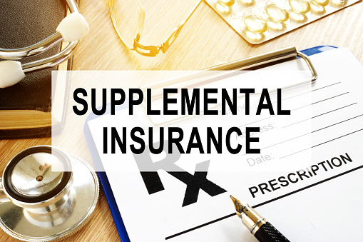 Supplemental Insurance Prescription Form And Stethoscope Stock Photo & More Pictures of Care ...