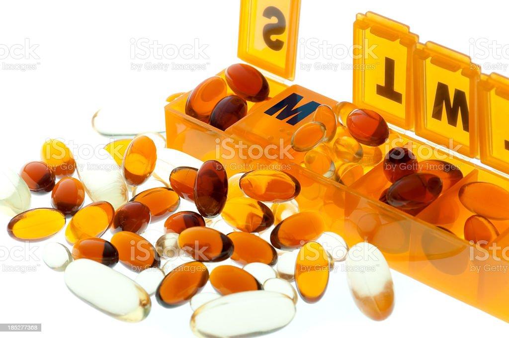 Supplements stock photo