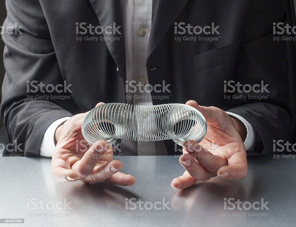 suppleness and flexibility in business stock photo