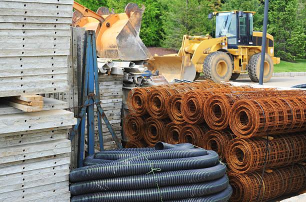 construction site - material de construção imagens e fotografias de stock