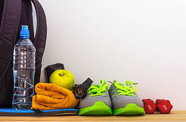 Supplies for sports hobbies stock photo