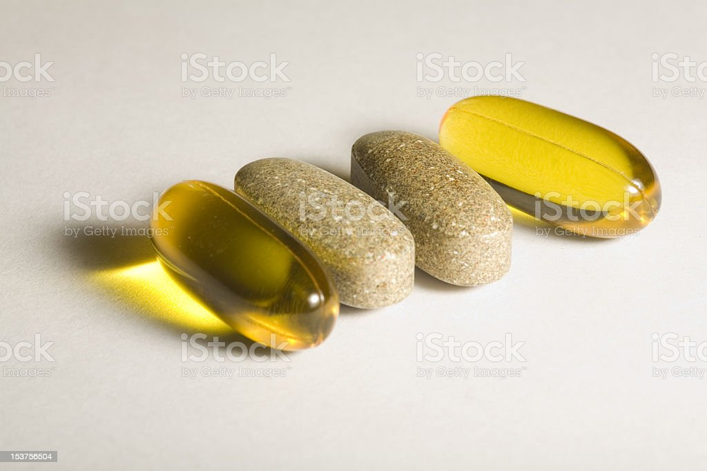 suppliments stock photo