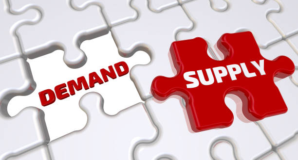 supply and demand is an economic model of price determination in a market - deficient stock pictures, royalty-free photos & images