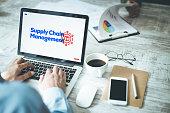 istock Supply Chain Management Concept Design 1092600194