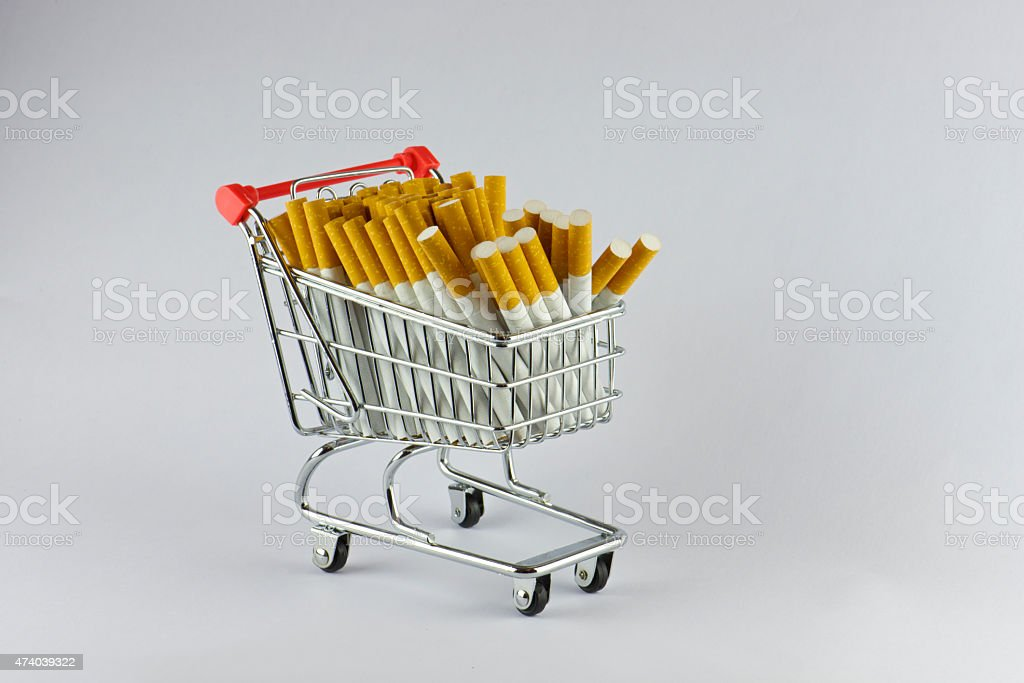 supply von Zigaretten die Tabak-Markt Krise – Foto