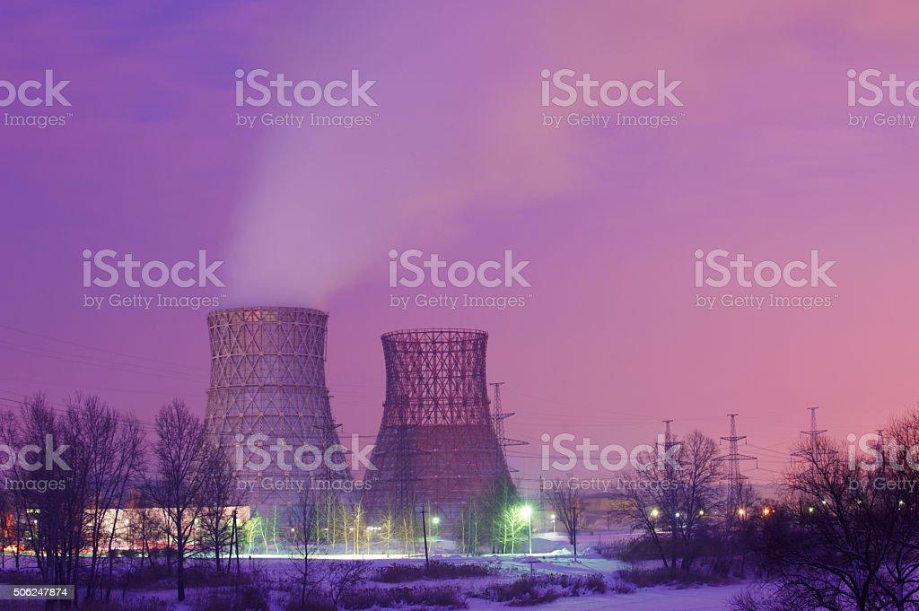 supply station stock photo