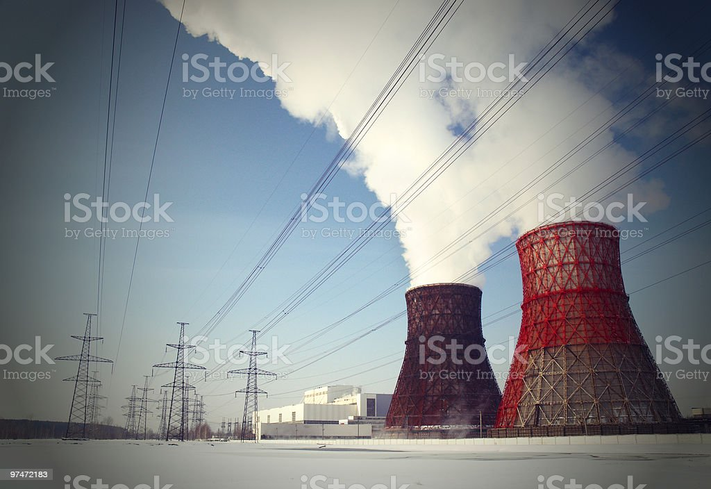 supply station royalty-free stock photo