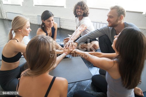 670054434istockphoto Support and teambuilding exercise 944620124
