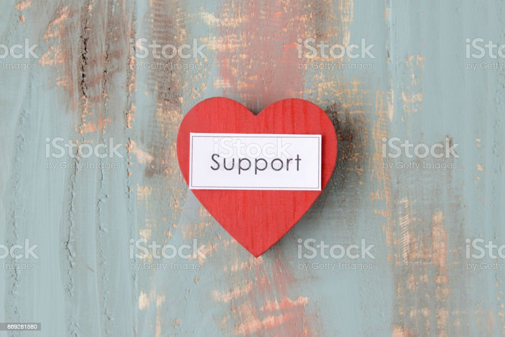 Support concepts stock photo