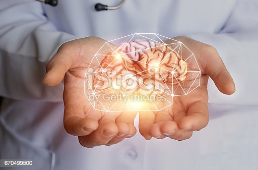 istock Support healthy of the brain. 670499500