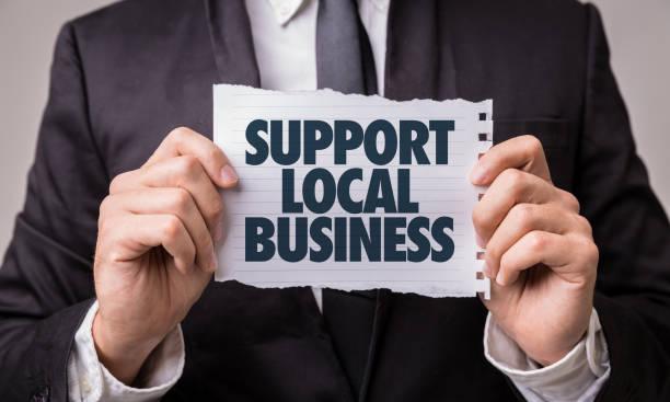 支援本地業務 - small business saturday 個照片及圖片檔