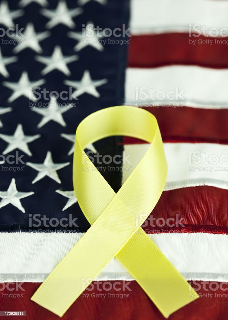 Support our Troops royalty-free stock photo