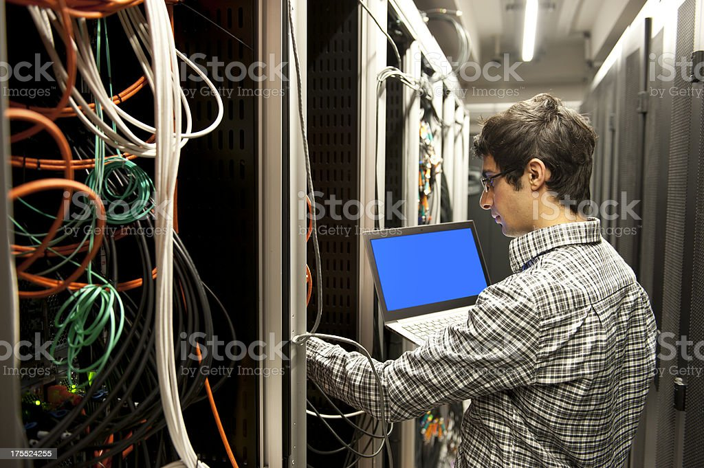 IT Support stock photo
