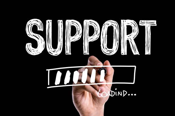 support - shifts call centre foto e immagini stock