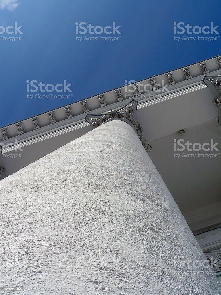 Support pillar stock photo