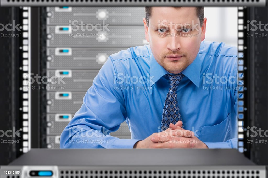 IT Support Specialist - Royalty-free Administrator Stock Photo