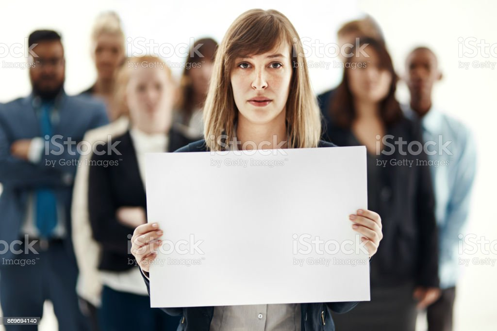 Supported by her team stock photo