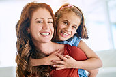 istock Supported by the comfort of Mom's love 585062868