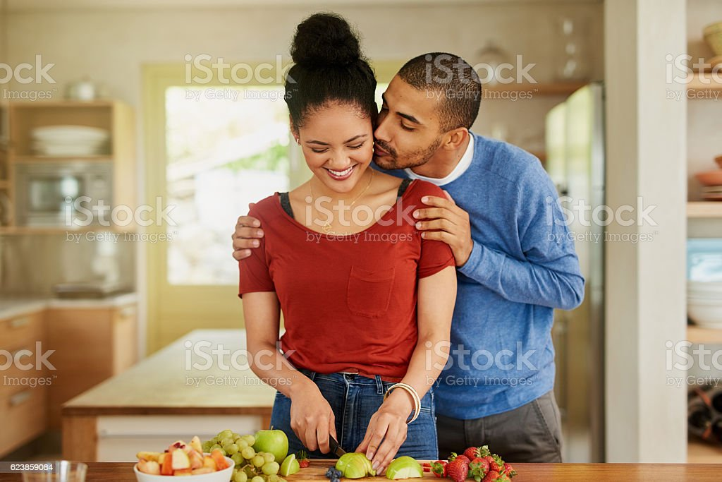 Supporting each other in being the healthiest they can be stock photo