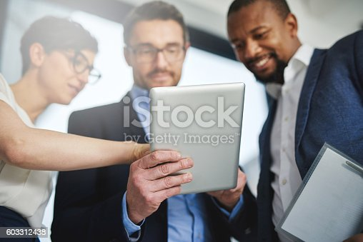603310486istockphoto Supporting team collaborations with technology 603312438