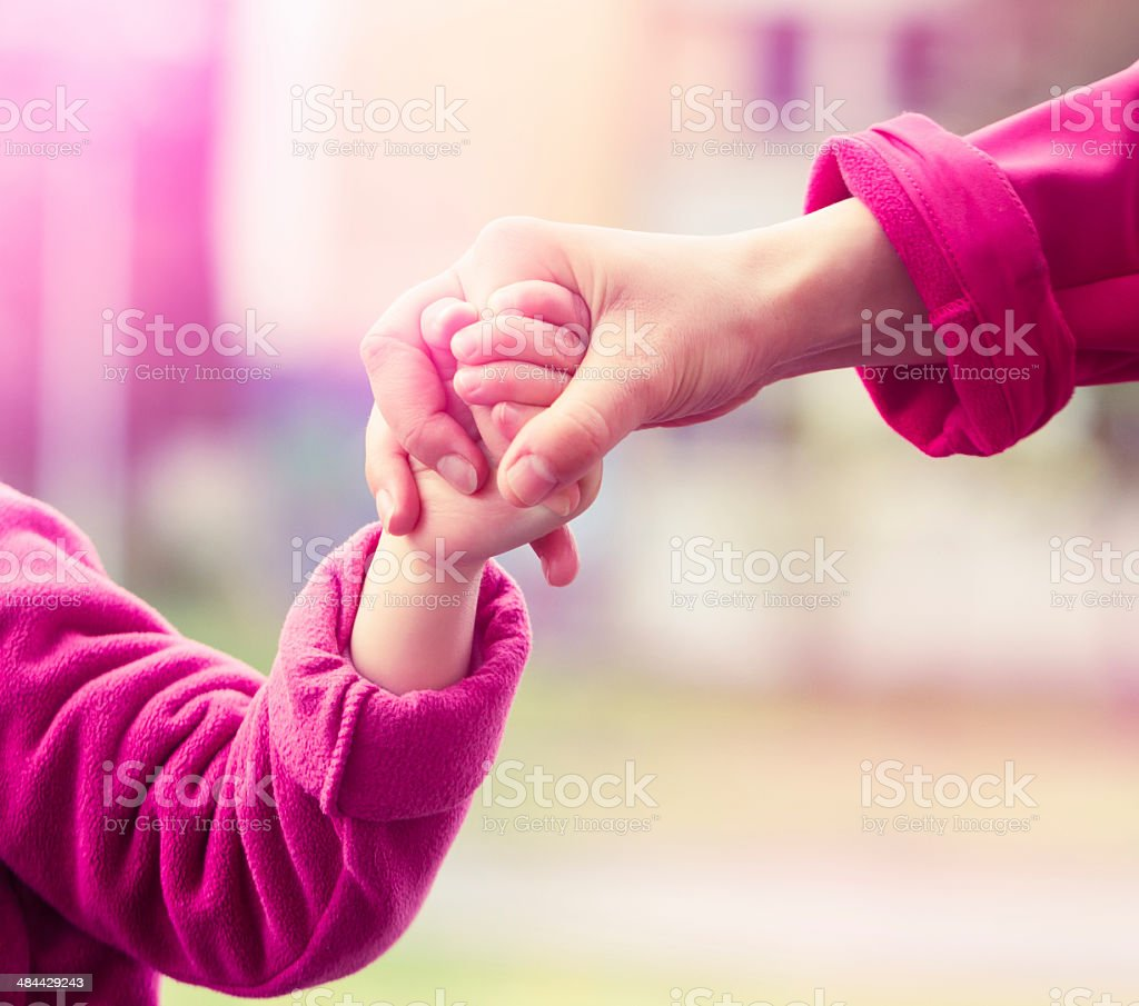 Supportive hand stock photo